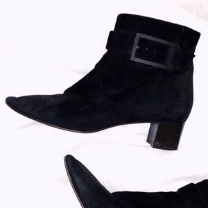 Aquatalia Suede Booties Winter Snow Ankle Boots 9